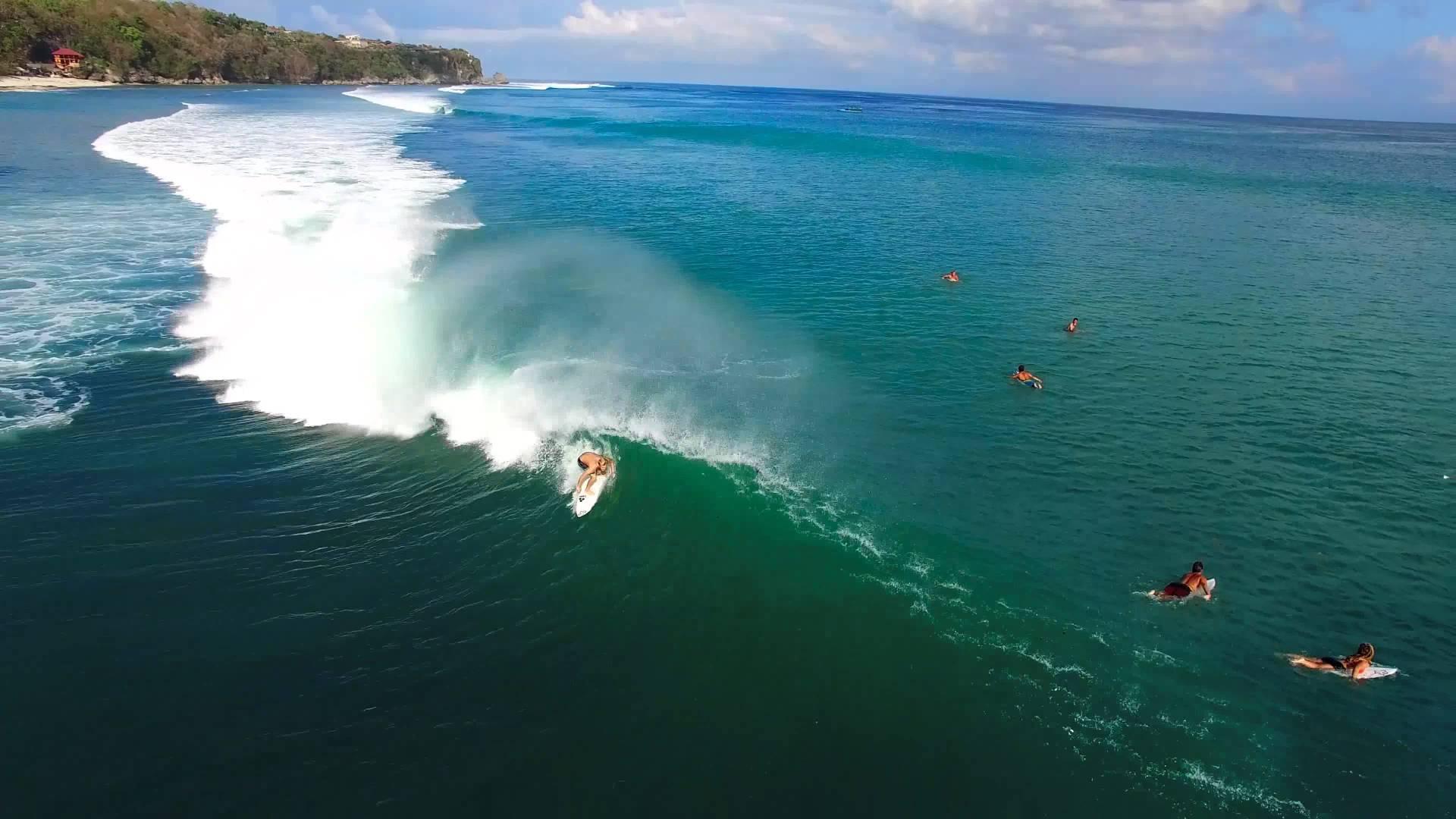 Фото серфинга на Бали