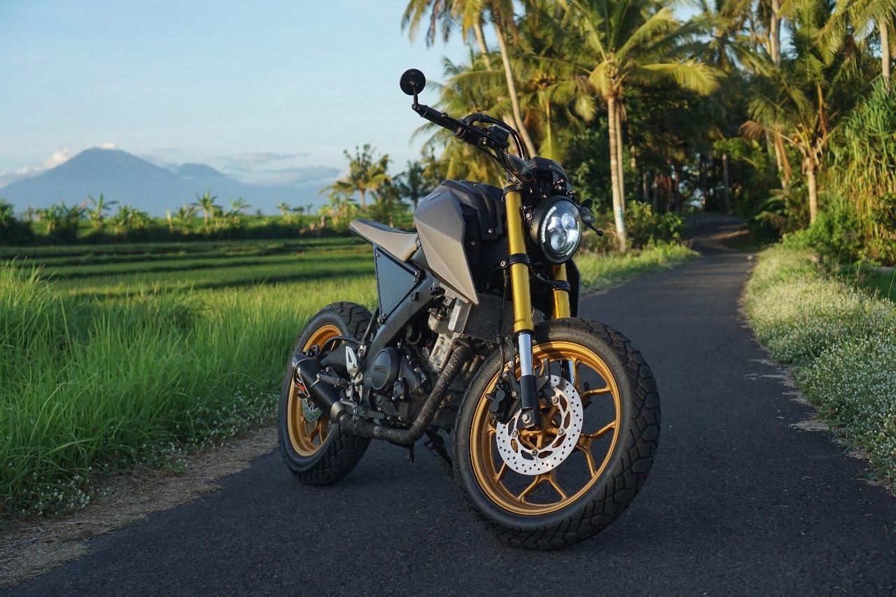 Фото скутера на Бали