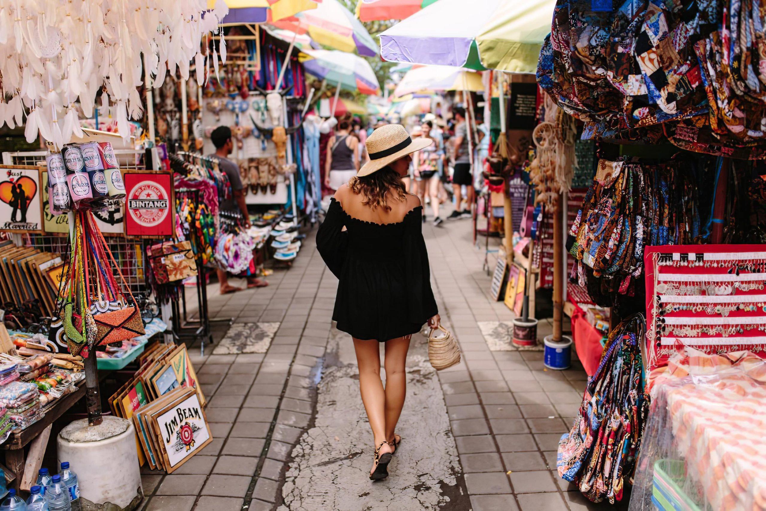 Фото рынка на Бали