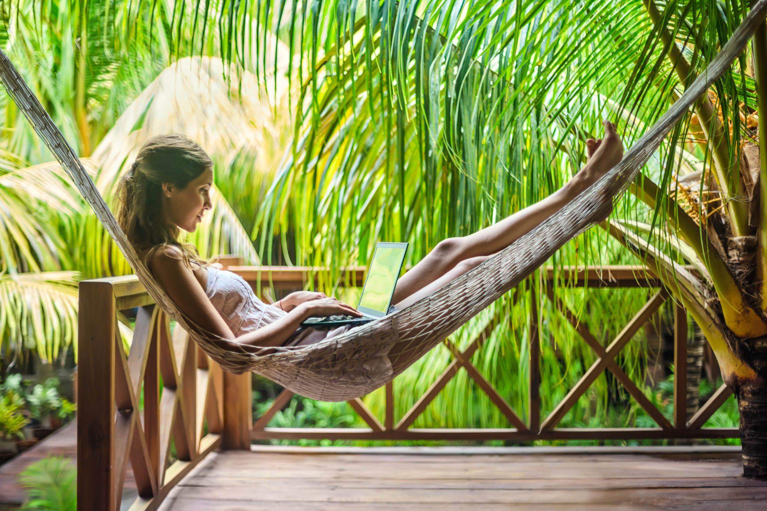 Фото девушки на Бали