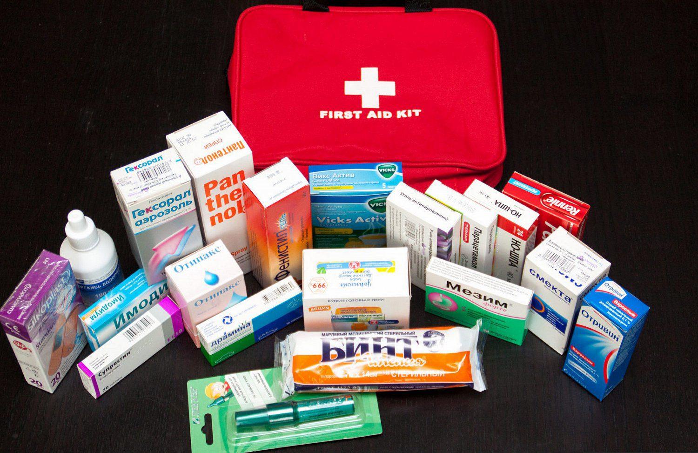 Личная аптечка на Бали