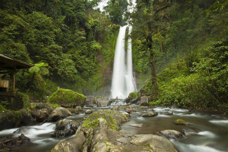 Фото водопада Гит-Гит