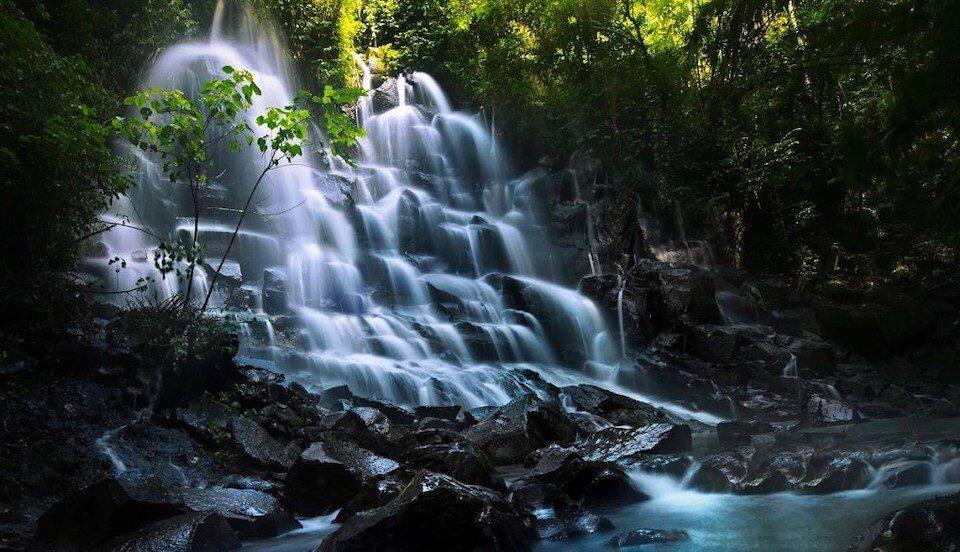 Фото водопада Канто Лампо