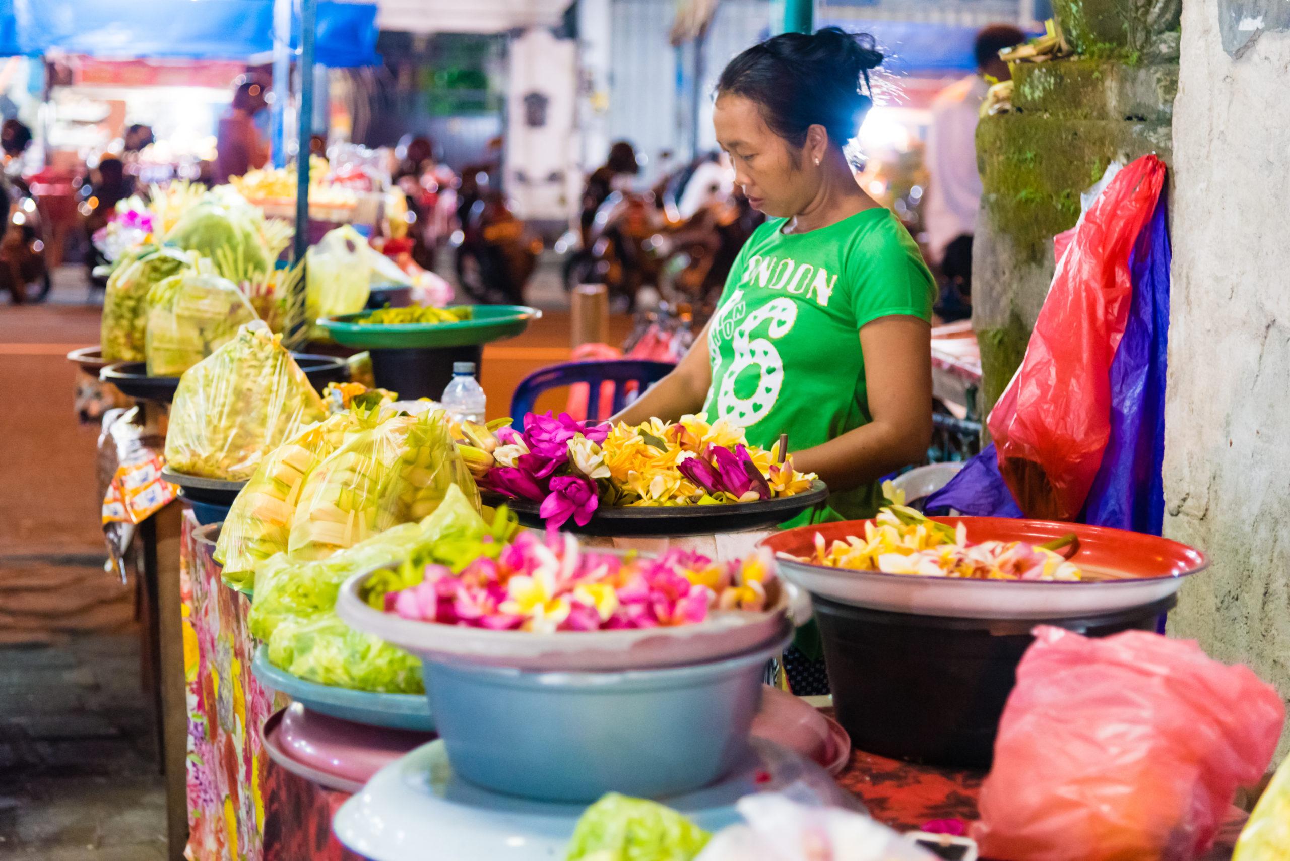 Ночной рынок Убуда