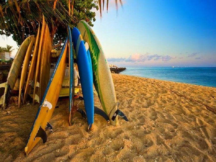 Бали – идеальное место для серфинга
