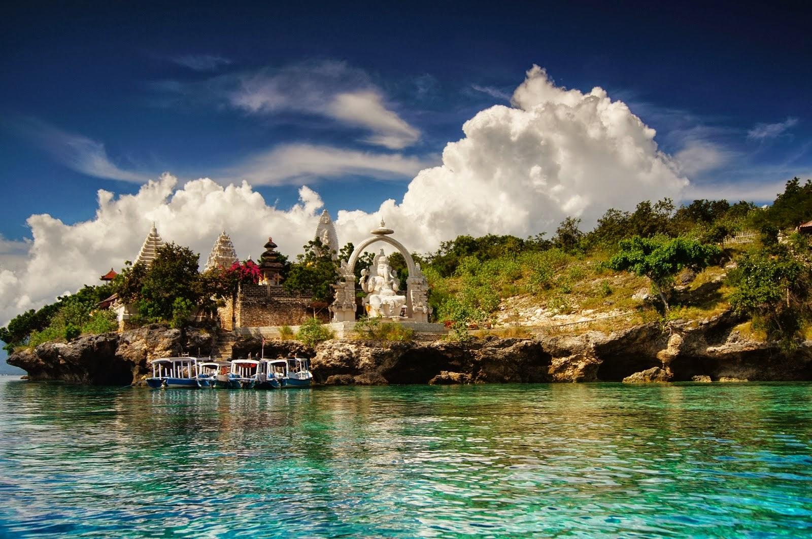 Фото острова Менджанган