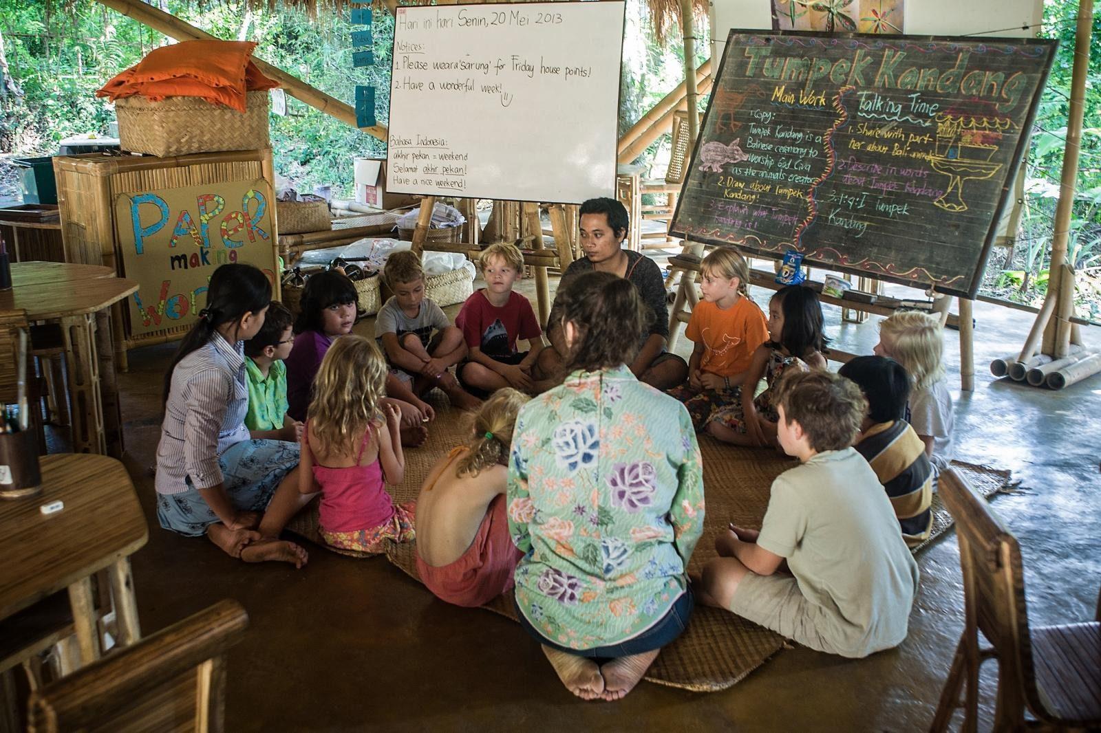 Фото учителя на Бали