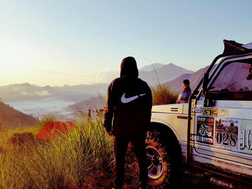 Кемпинг на вулкане Батур