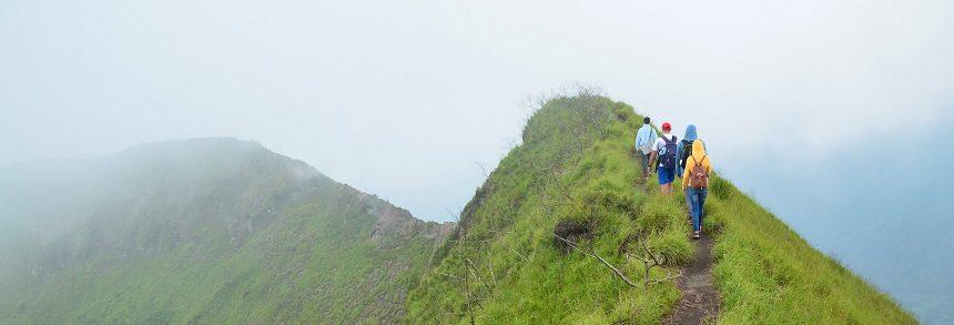 Подъем на гору Батур