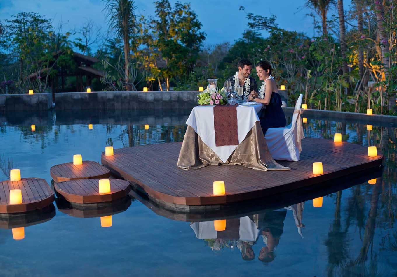 Фото романтического вечера