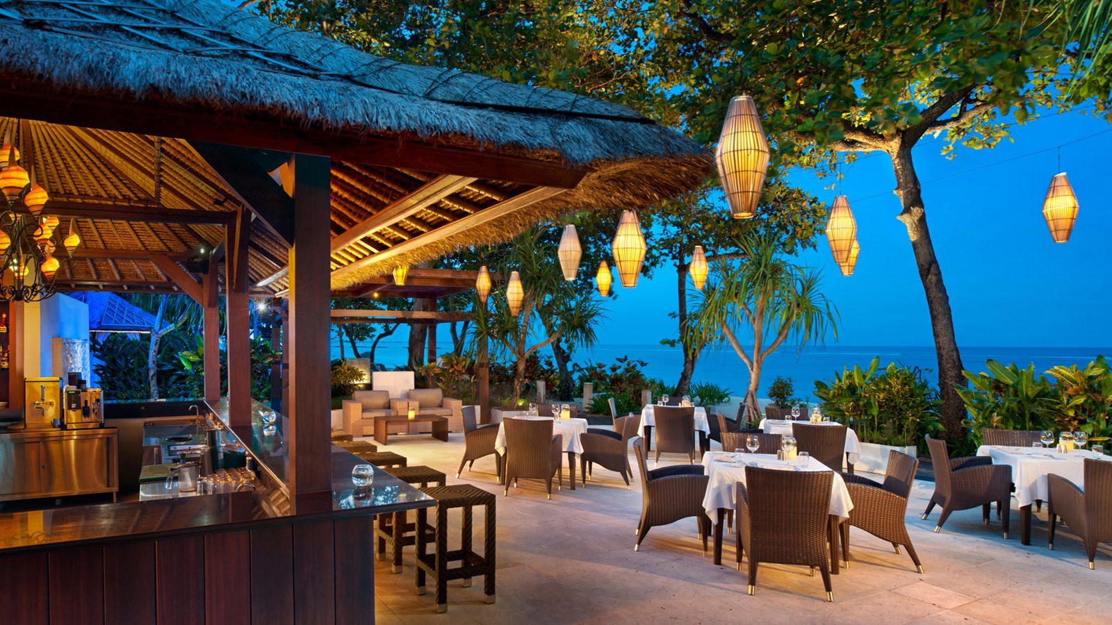 Фото ресторана на курорте