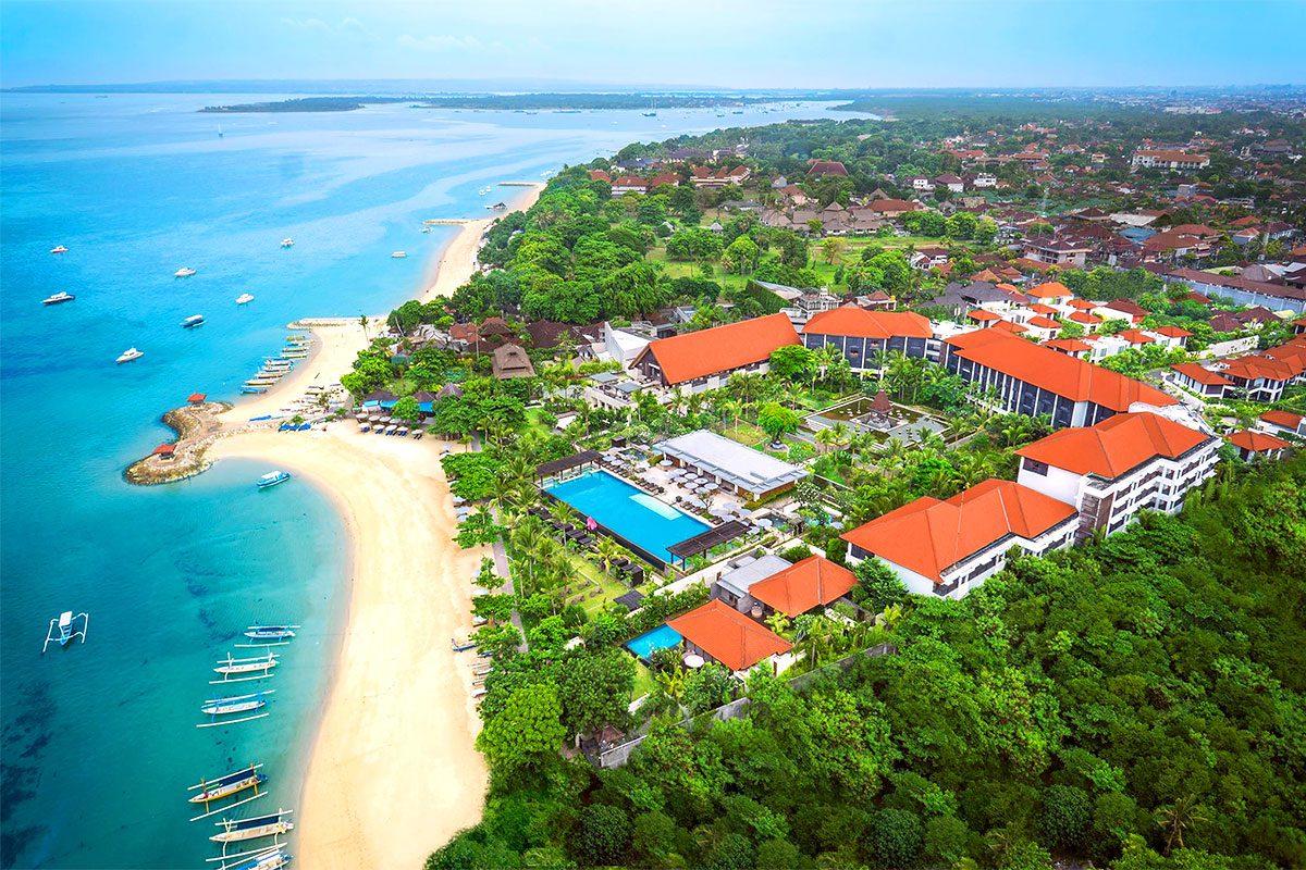 Санур на Бали