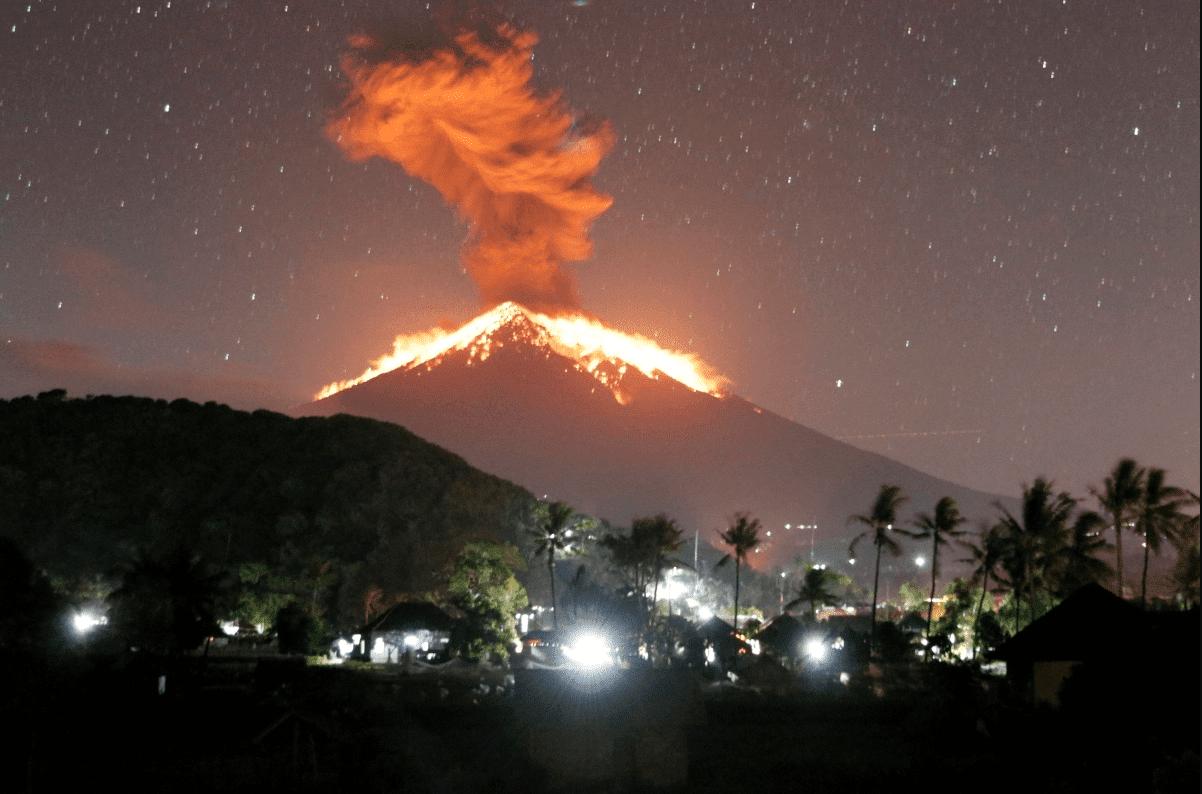 Обзор Вулкана Агунг
