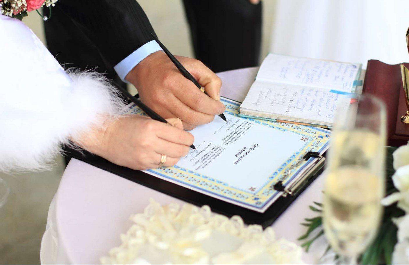 Документы для организации свадьбы