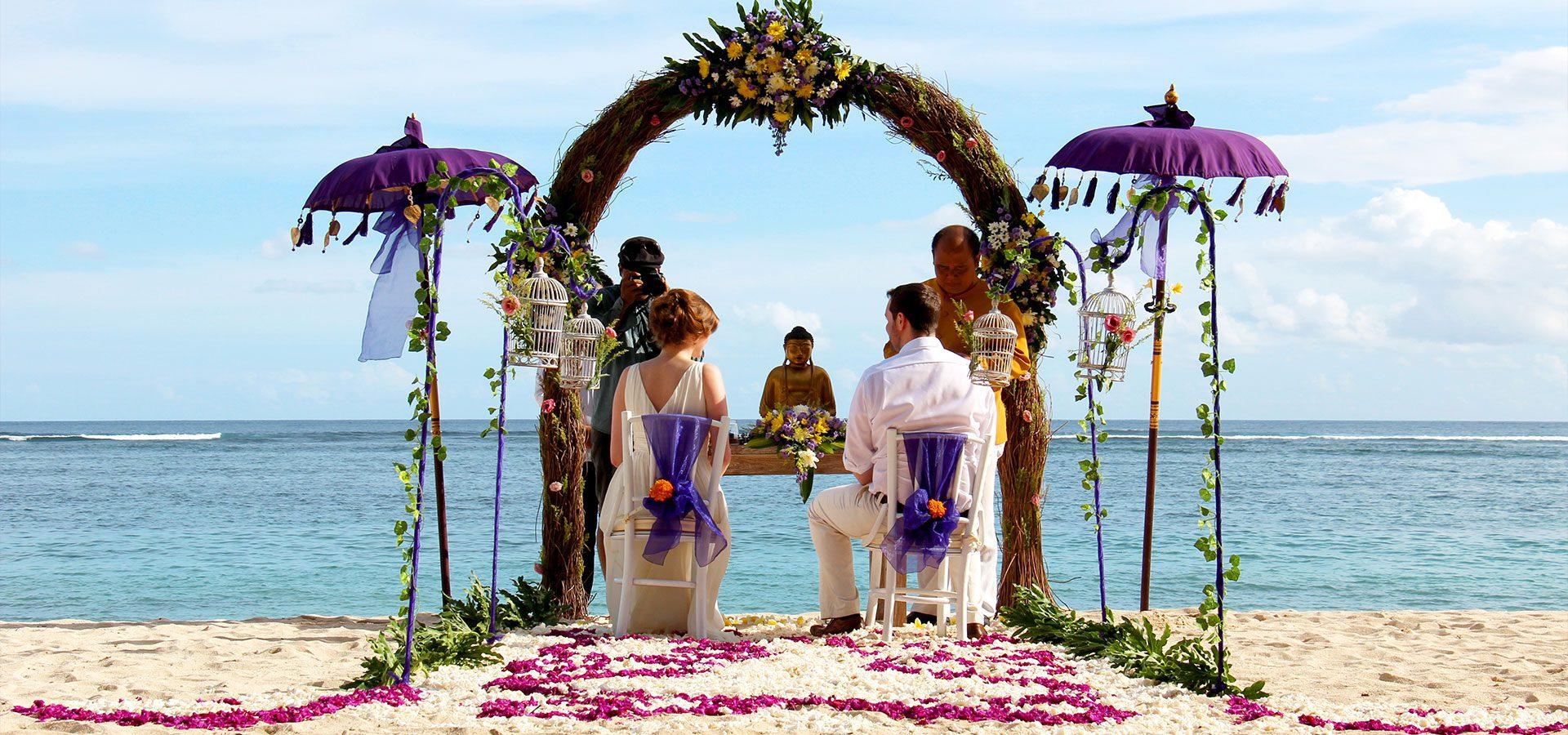 Как организуется свадьба на Бали
