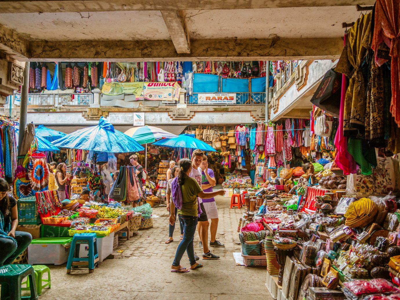 Просторный Ubud Market
