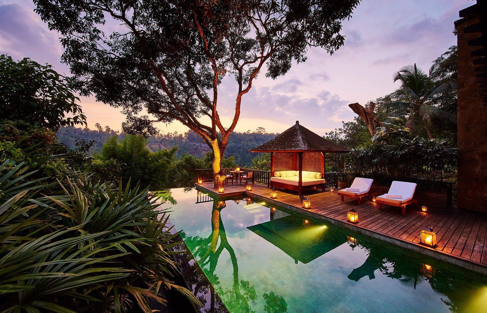 Место для релакса на Бали
