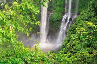 Фото водопада Секумпул