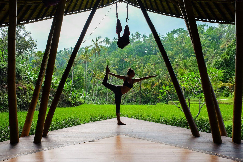 Йога на Бали в Убуде
