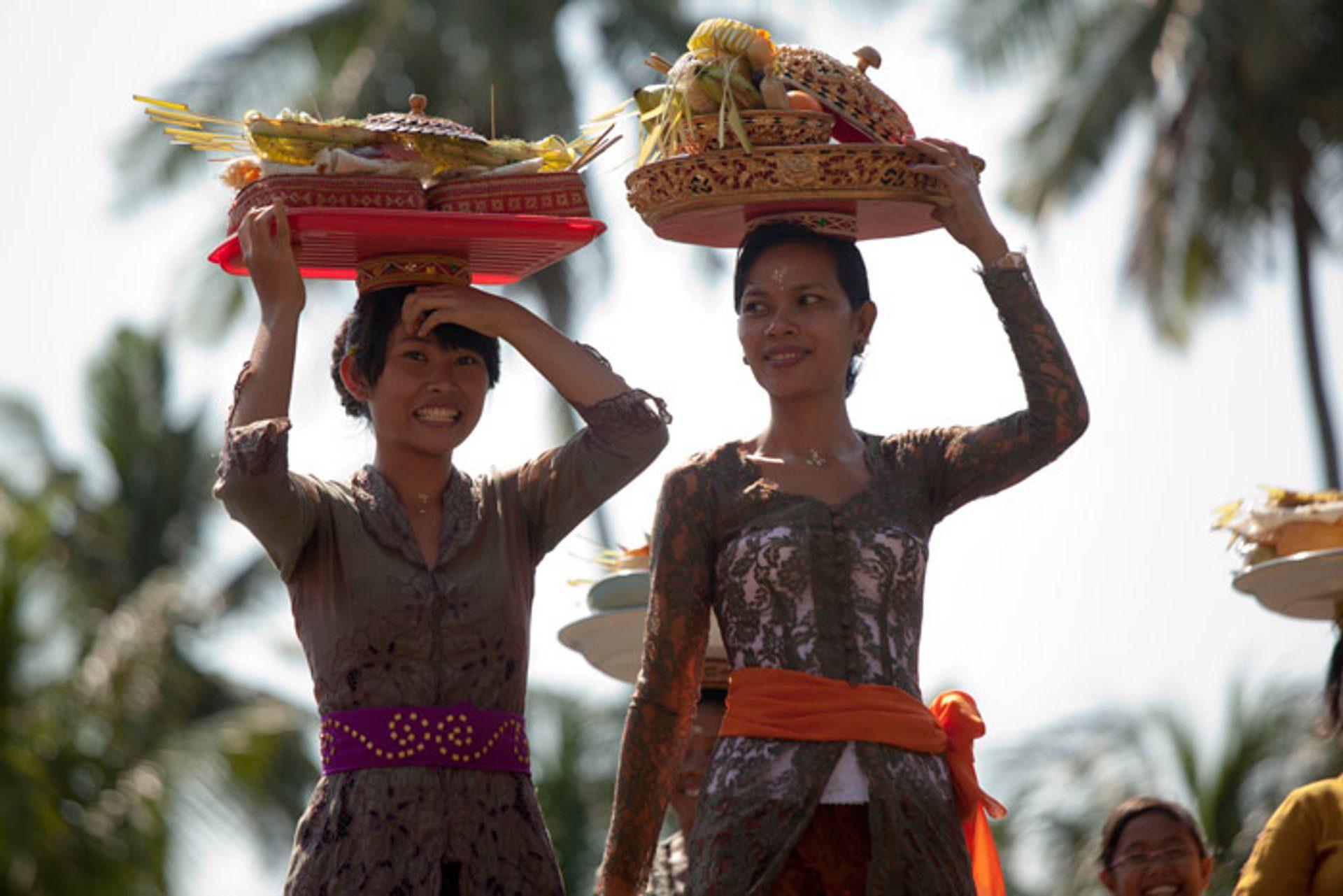 Местное население Бали