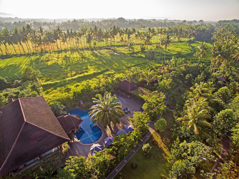 На фото отель-ферма Bhuwana Ubud Hotel 5*