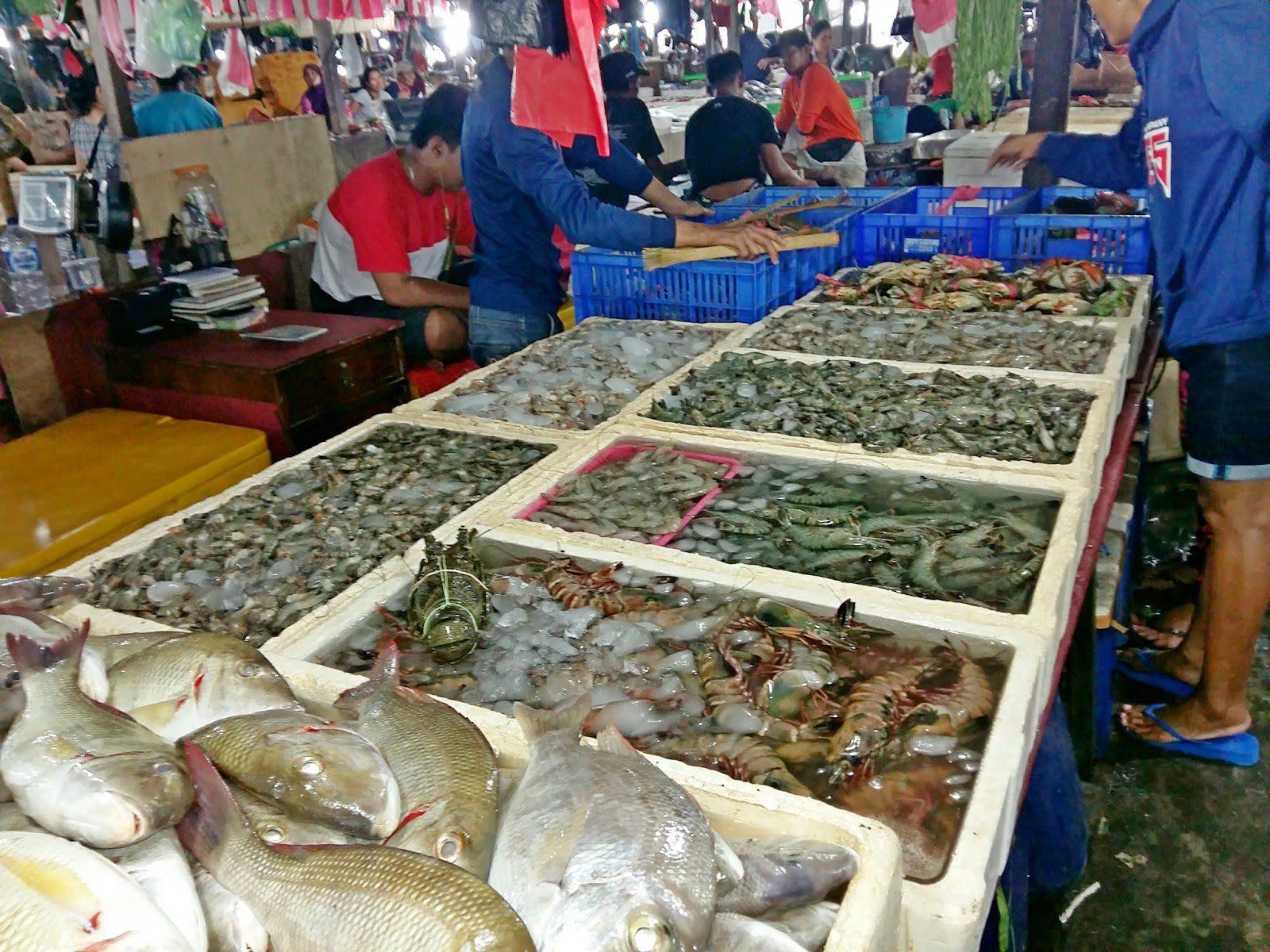 Морепродукты на Бали стоят дорого
