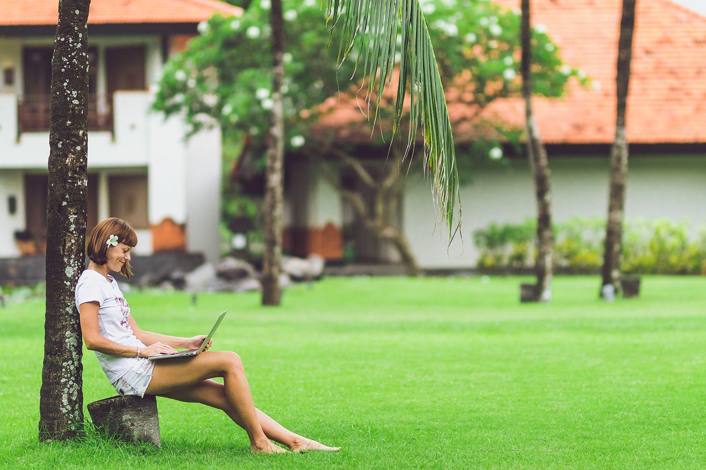 На Бали плохой интернет