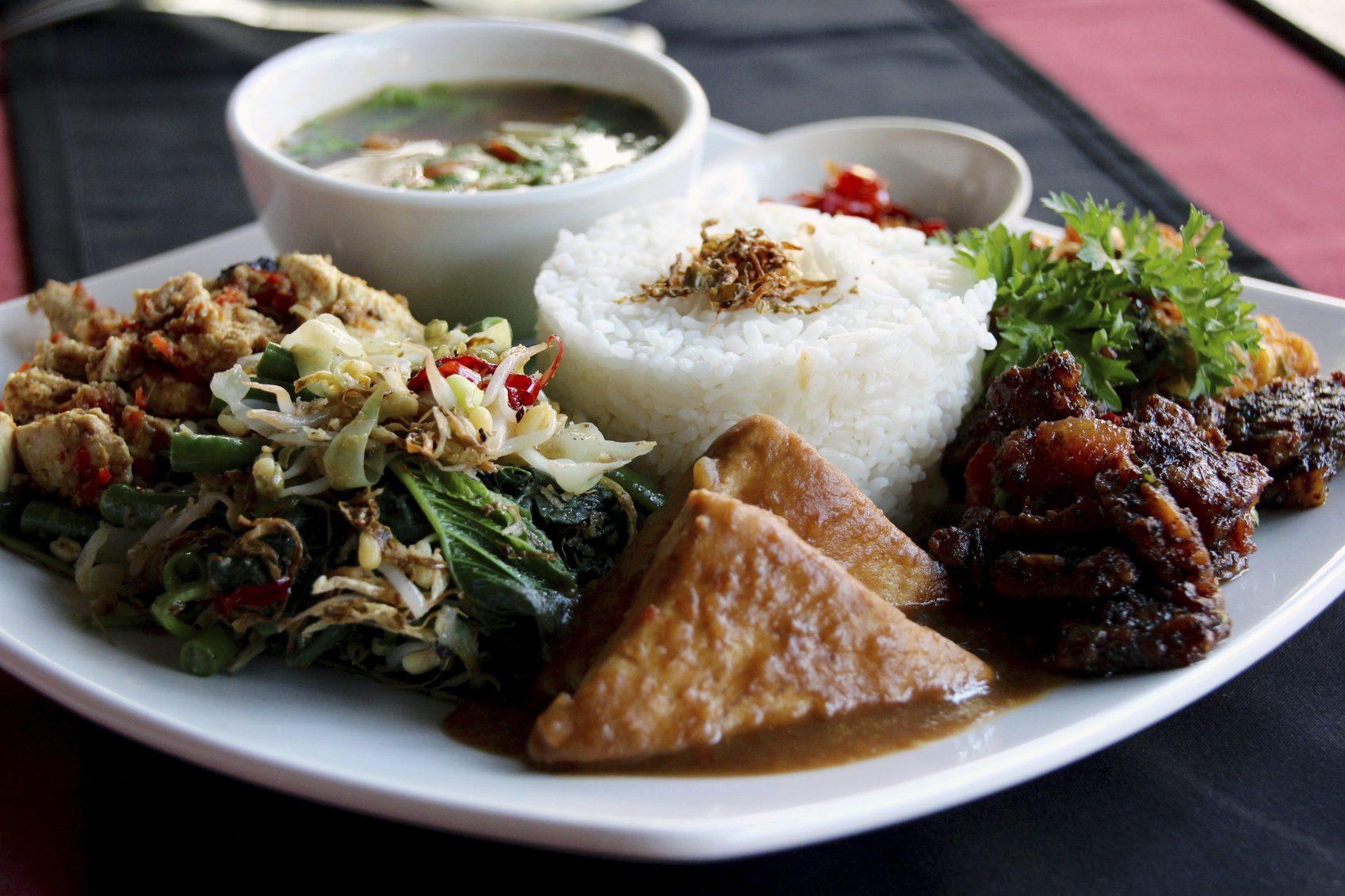Блюдо Nasi Campur