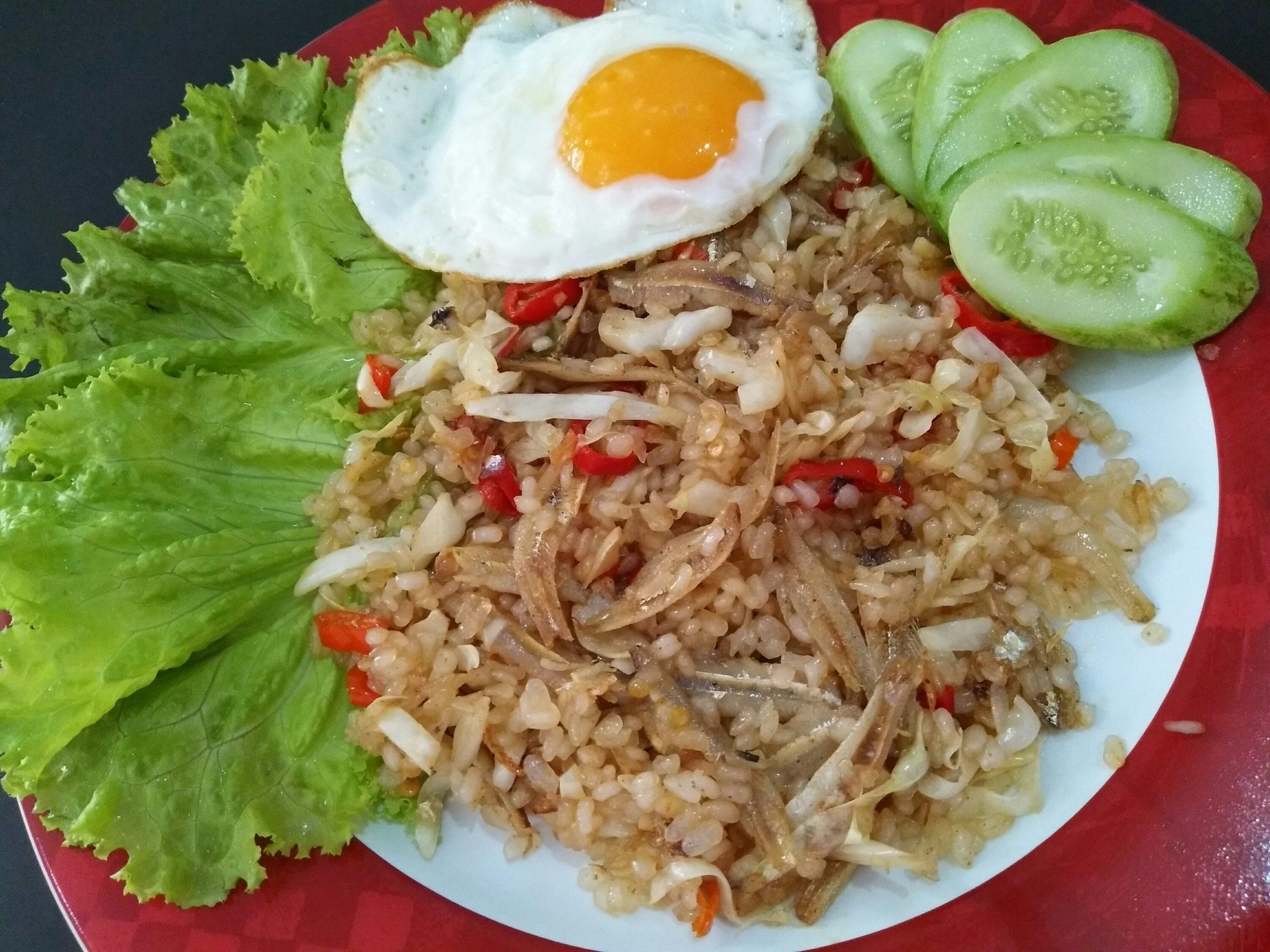 Блюдо Nasi Goreng
