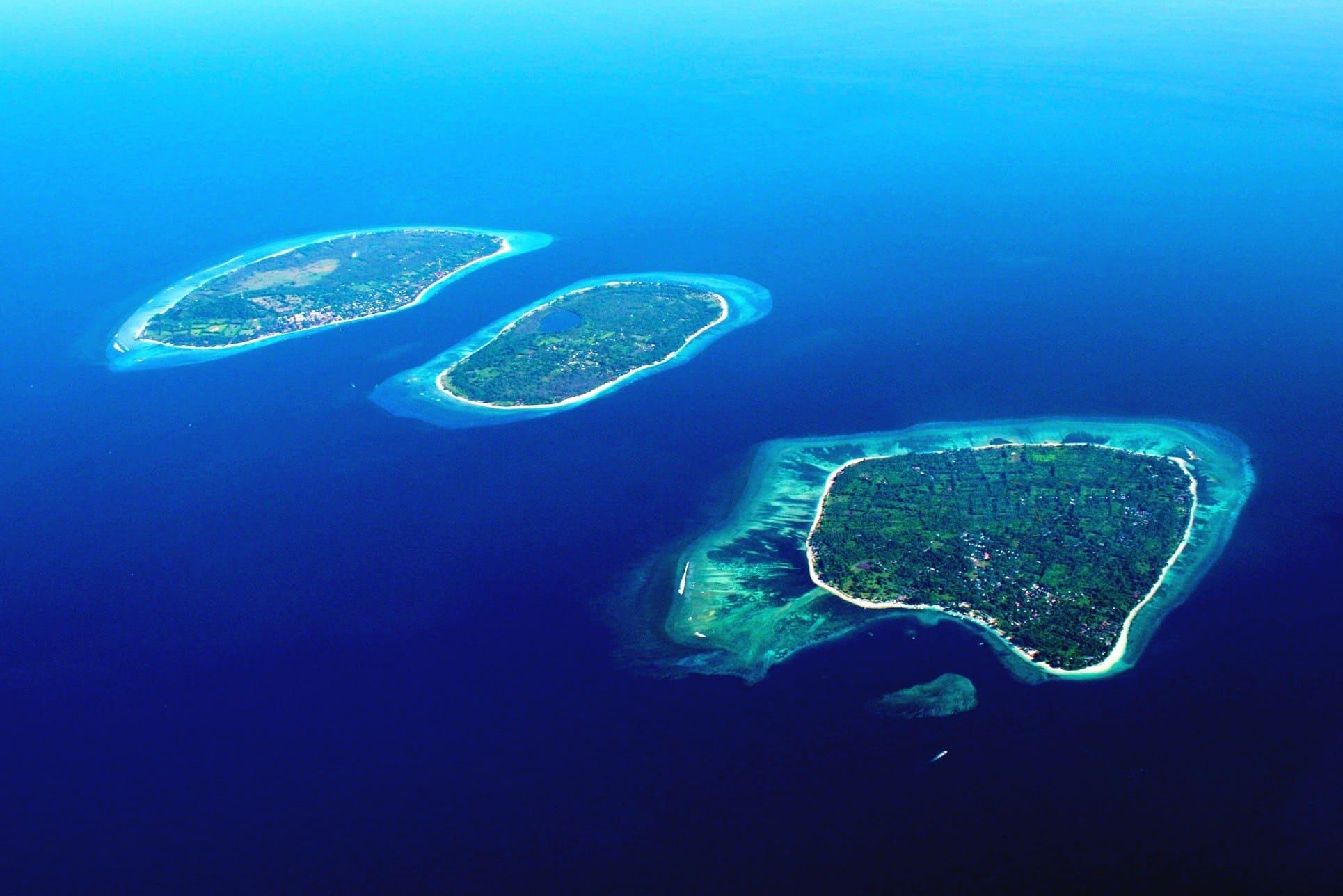 На фото острова Гили