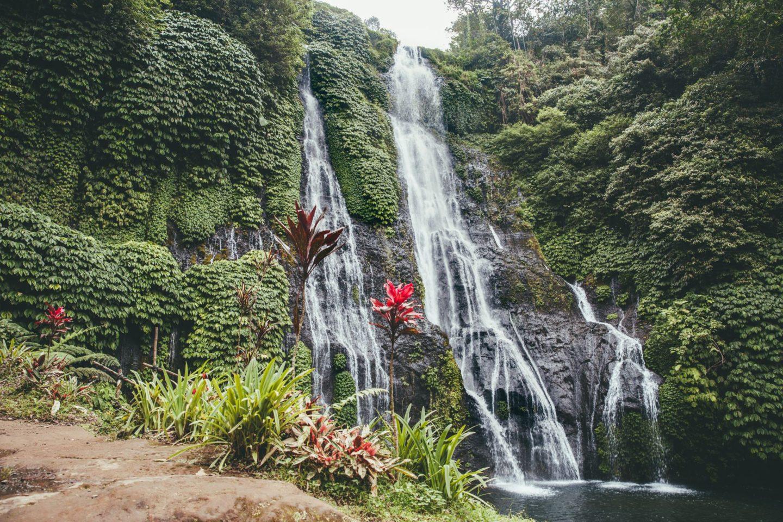 Так выглядит водопад Баньюмала Твин