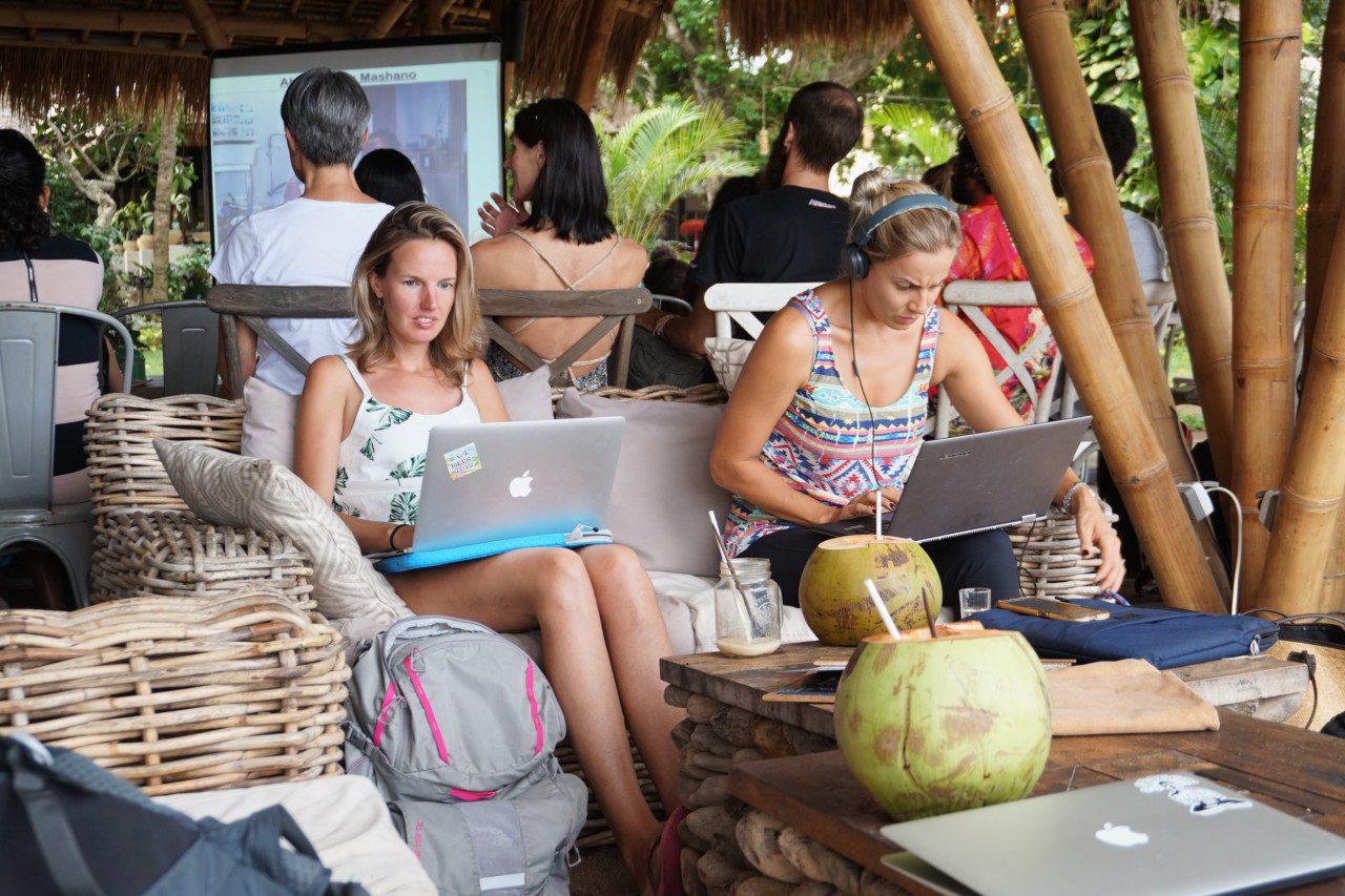 Пользование вай-фаем на Бали