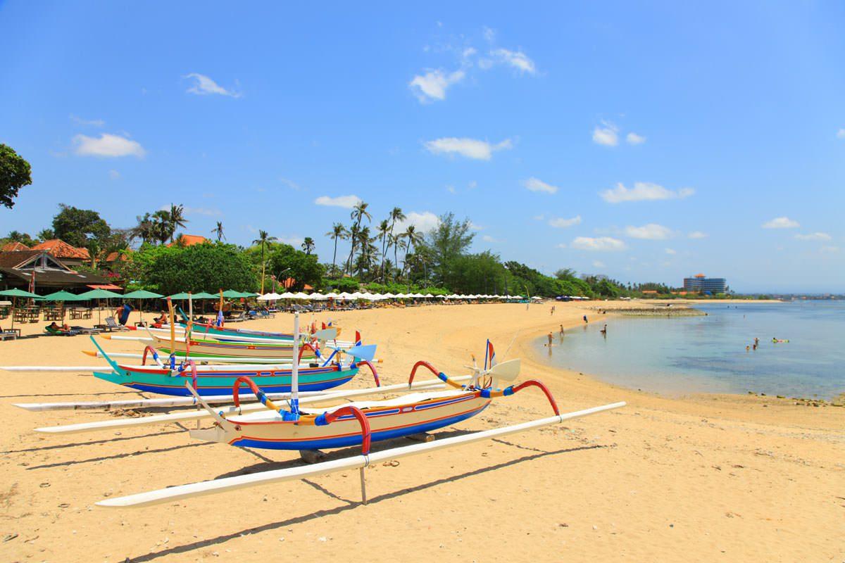 Фото пляжа Санур на Бали