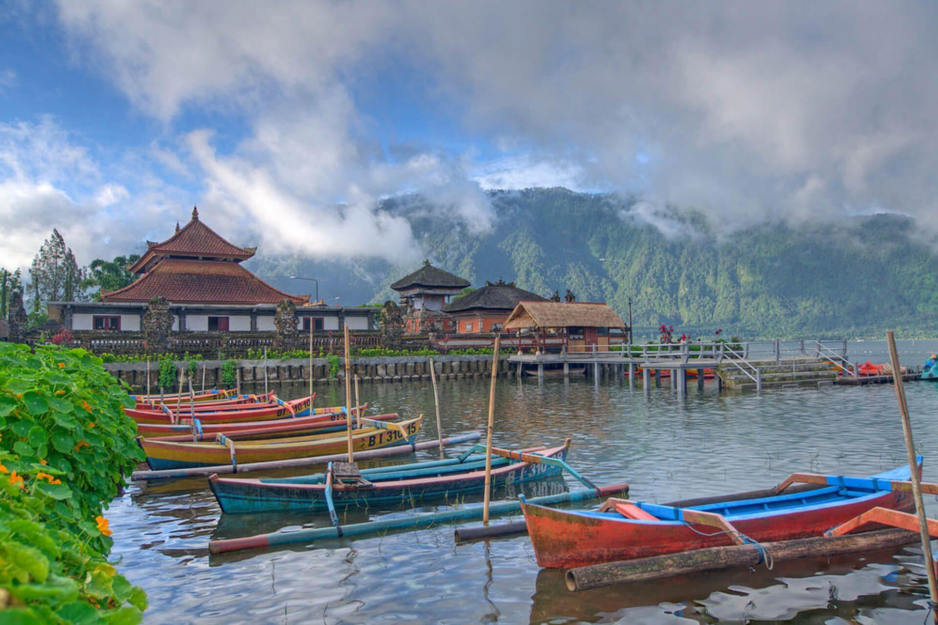 Фото озера Братан