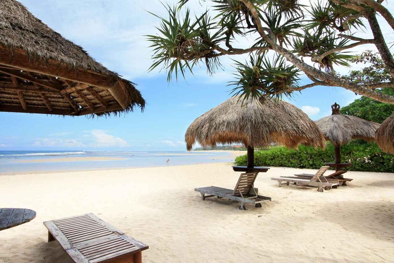 Фото пляжа на курорте