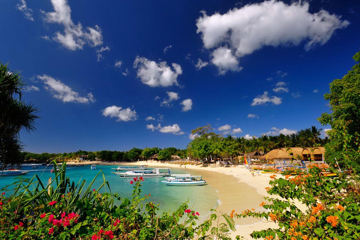 Фото береговой линии Бали