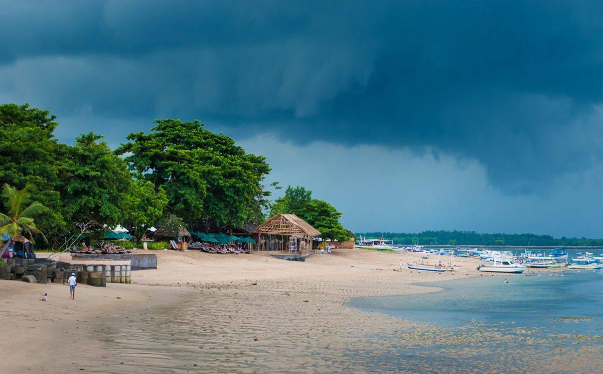 Фото сезона дождей на Бали