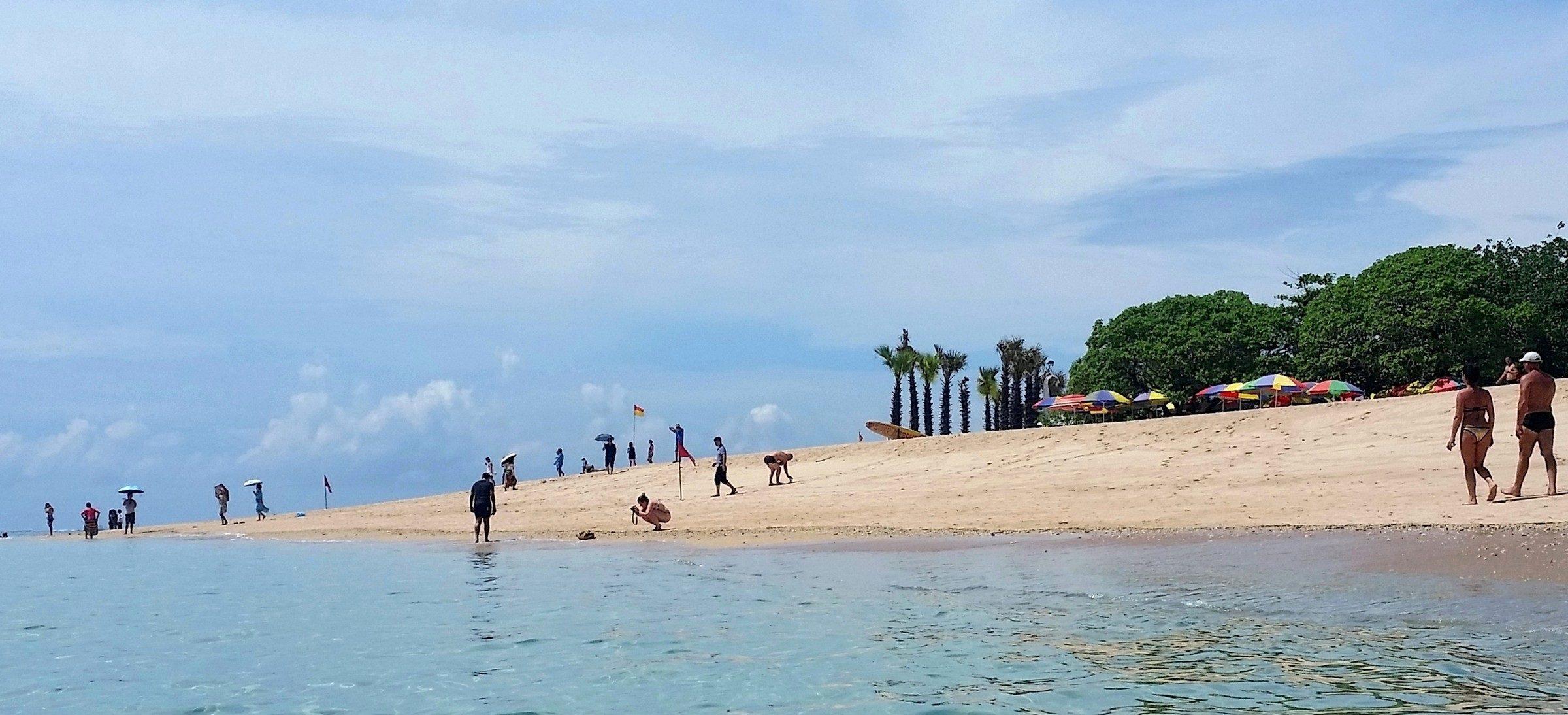 Фото купающихся туристов