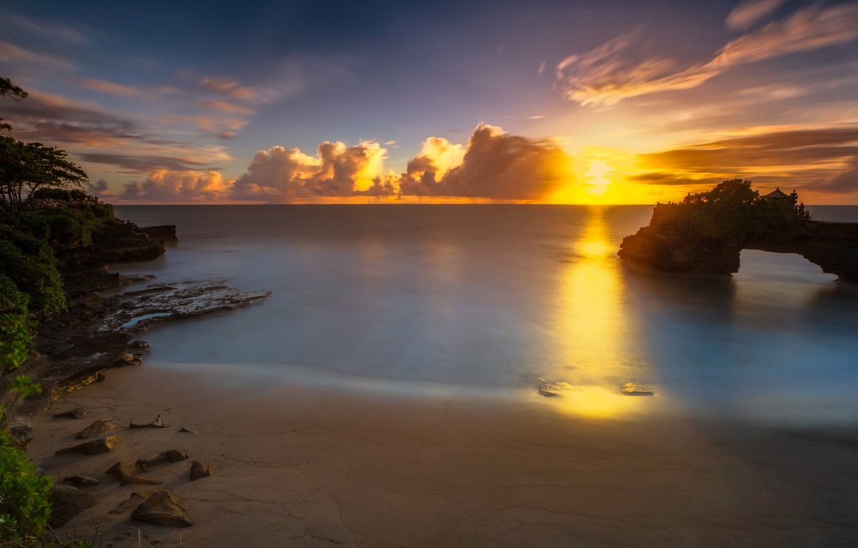 Фото рассвета на Бали