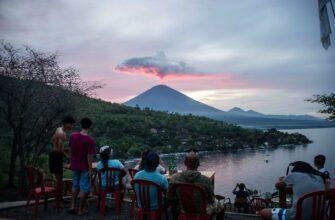 Фото вулканов на Бали