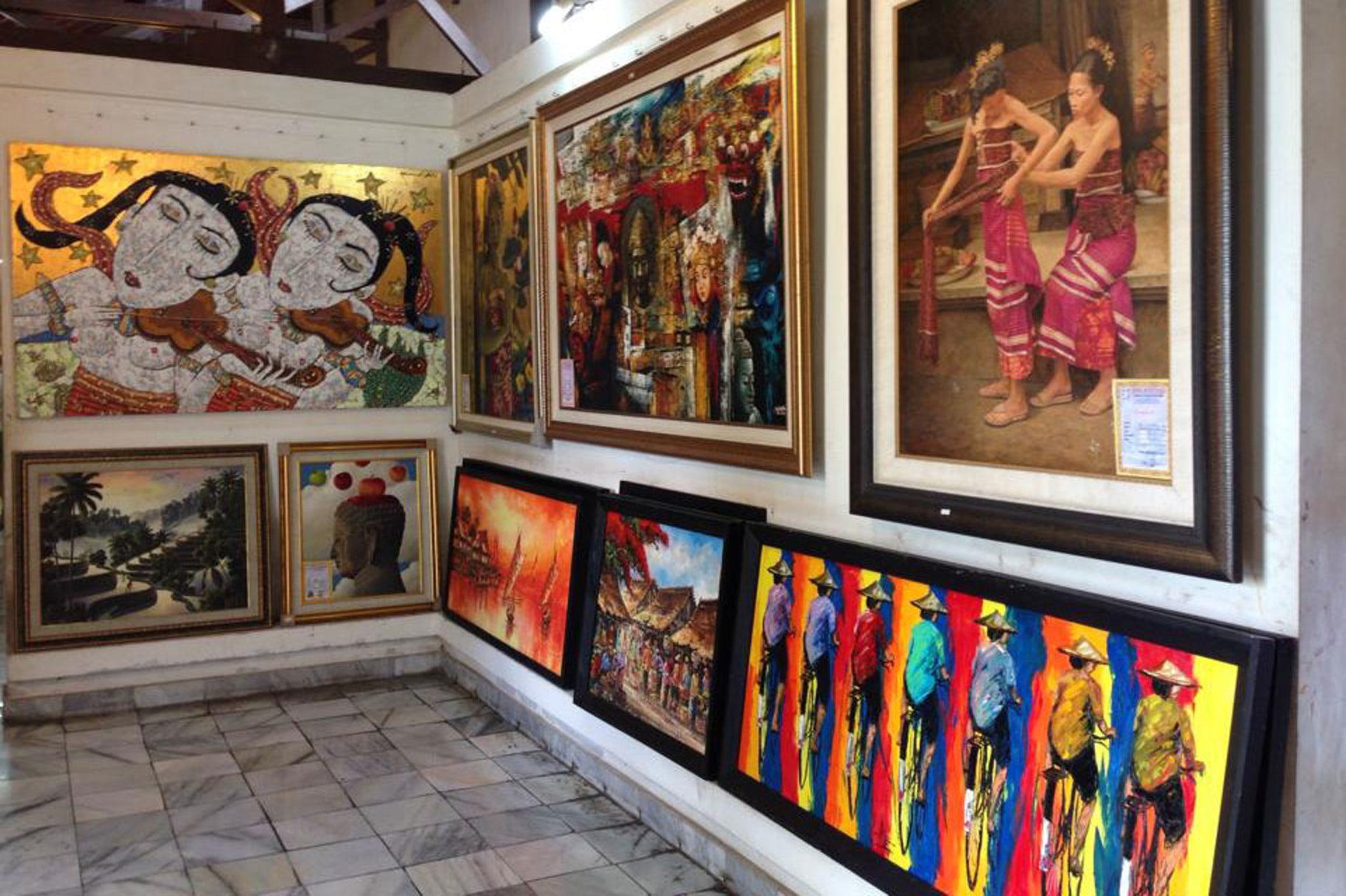 Фото художественной галереи на Бали