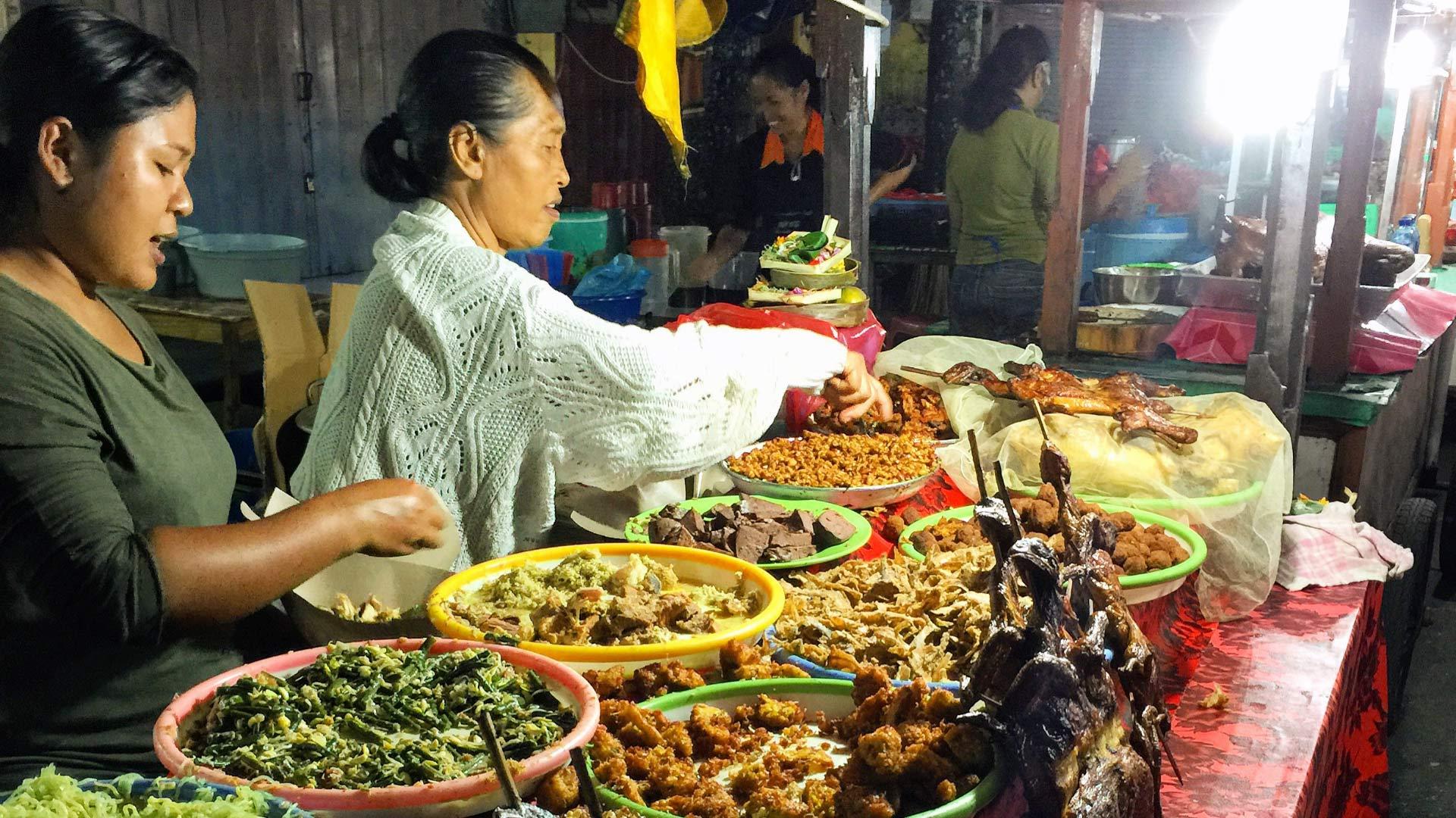 Фото рынка в Гианьяре