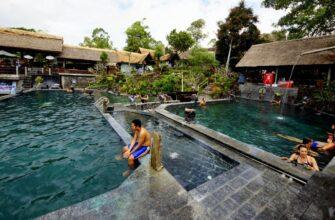Фото горячих источников на Бали