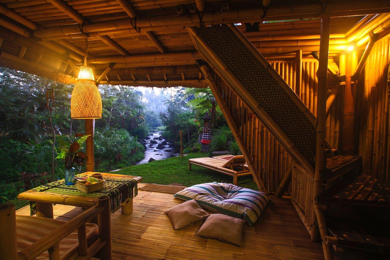 Фото Бунгало из бамбука