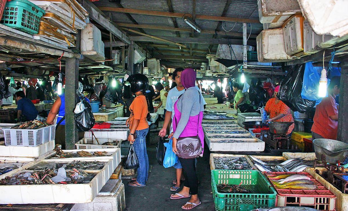Фото рынка в Джимбаране