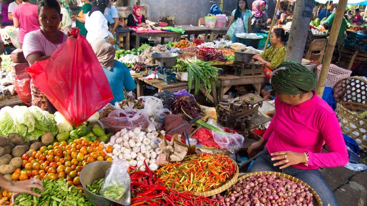 Фото рынка Kereneng & Asoka