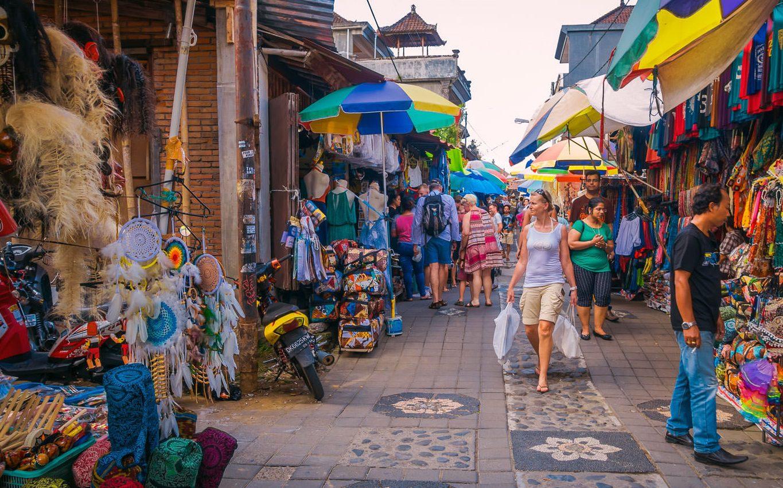 Фото рынка в Убуде