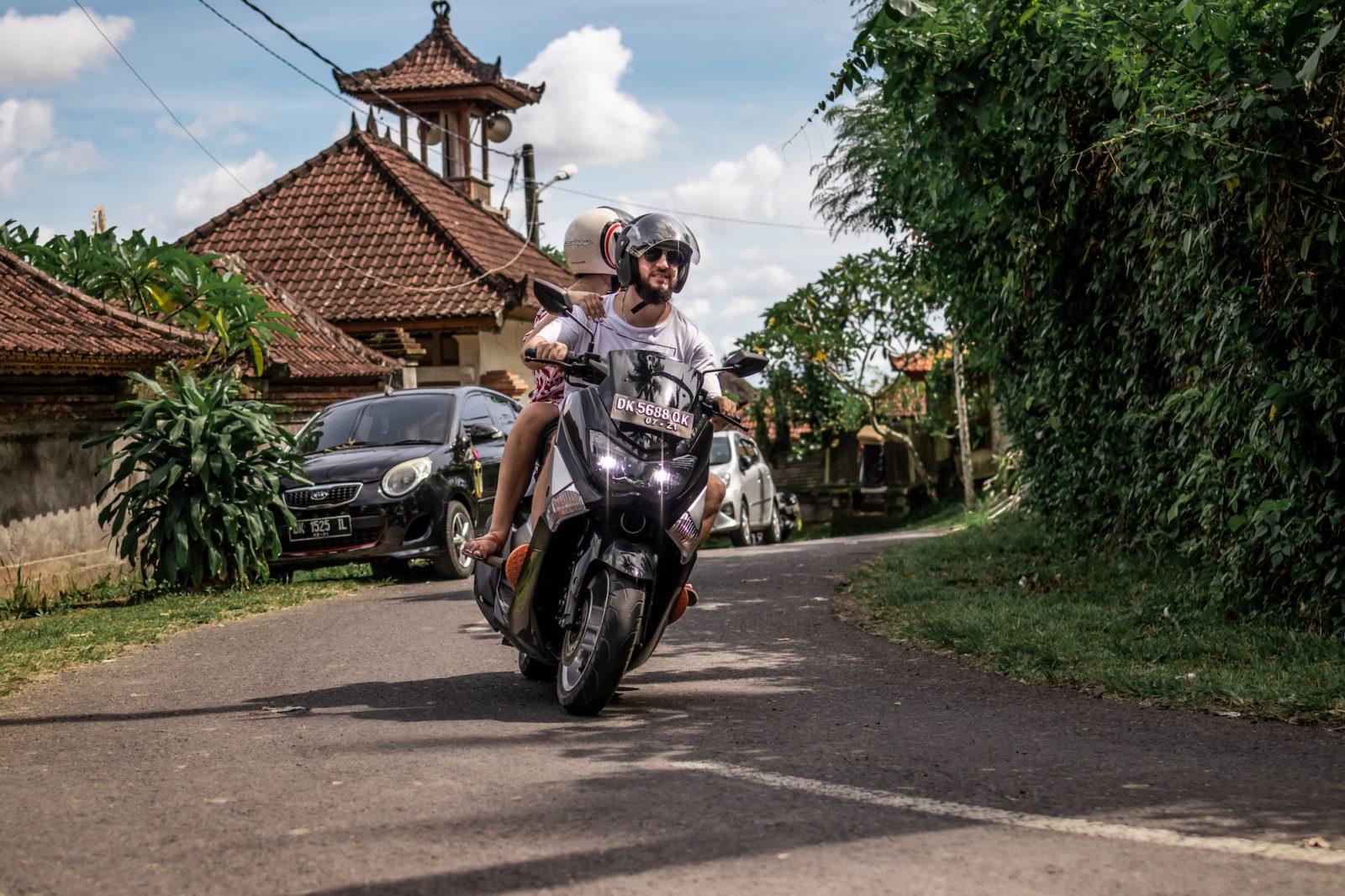 Фото байка на Бали