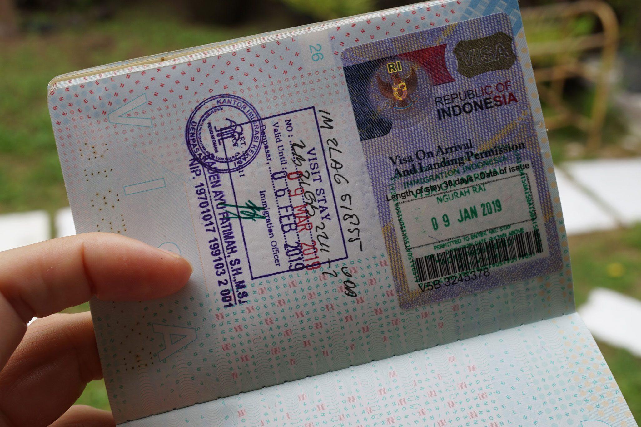 Фото паспорта с отметкой