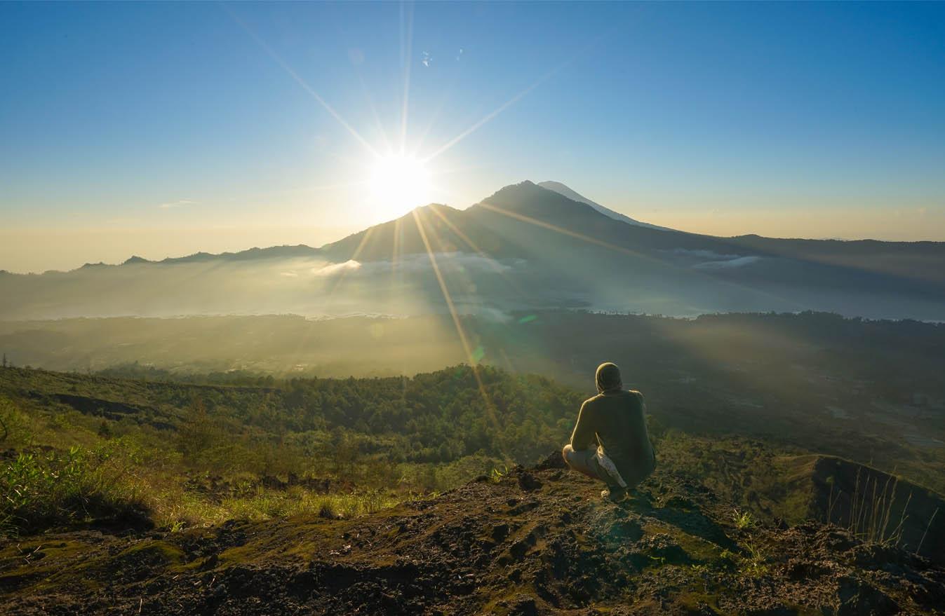 Фото вулкана Батур
